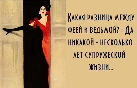 kaka ya raznica mejdu feey i vedmoy «Мы были бы отличной парой, если бы не ТЫ» или «Почему моя жена стала ведьмой»